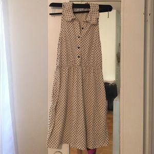 Delia's Sleeveless Polka Dot Dress