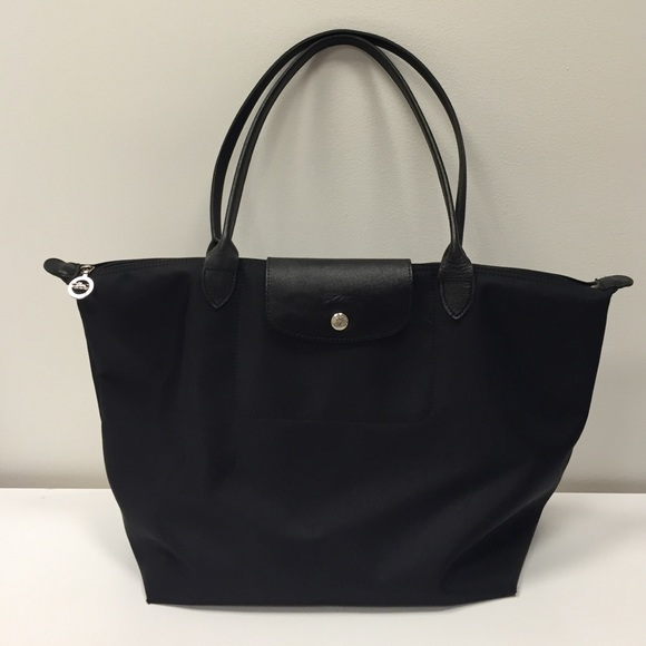 Outlet Eastbay Le Pliage Neo Tote - Only One Size / Black Longchamp Low Shipping Free Shipping Enjoy Cheap Classic CNzpcEqKg