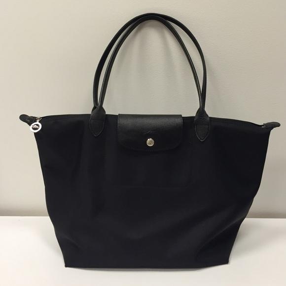 Longchamp Handbags - Longchamp Le Pliage Neo Large Tote in Black 6319191820