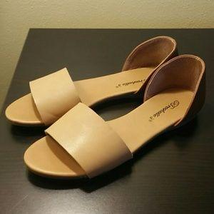 Breckelles Shoes - D'orsay flat sandals