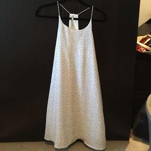 Grid Patterned Dress