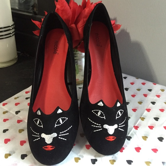 be8dc171b2818 Shoes | One Hour Only Salenicole Cat Style Flats | Poshmark