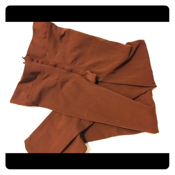 4be7448f37c Comptoir Des Cotonniers Other - Rust colored tights one size