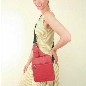 Travelon Bags   All Leather Cross Body Bag Nwt   Poshmark 17395ed3e0
