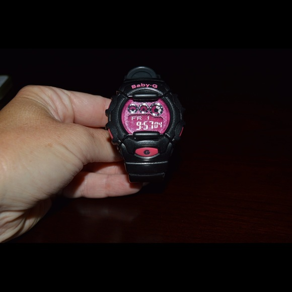 0deb63d82a G-Shock watch, Pink and Black Baby-G