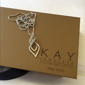 Kay Jewelers Jewelry - Diamond Infinity Necklace