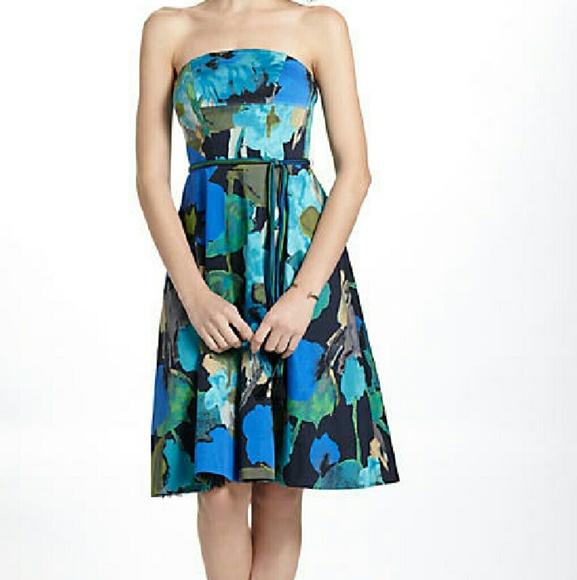 98aa704a76e2 Anthropologie Dresses & Skirts - Vanessa Virginia / Anthropologie Strapless  Dress