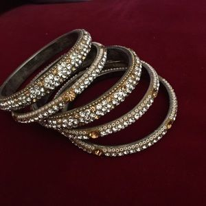 Jewelry - Set of Crystal Bangles