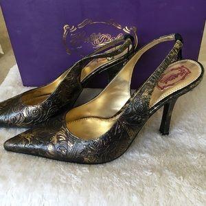 Hale Bob Shoes - HaleBob leather pumps