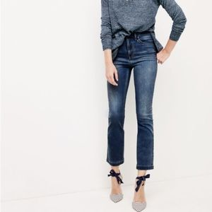 J. Crew Denim - J.Crew Demi boot crop