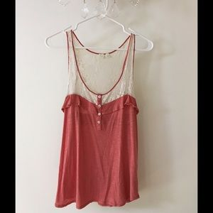 Lace Anthropologie top