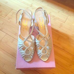 Calypso St. Barth Shoes - NWNT Calypso Silver Heels