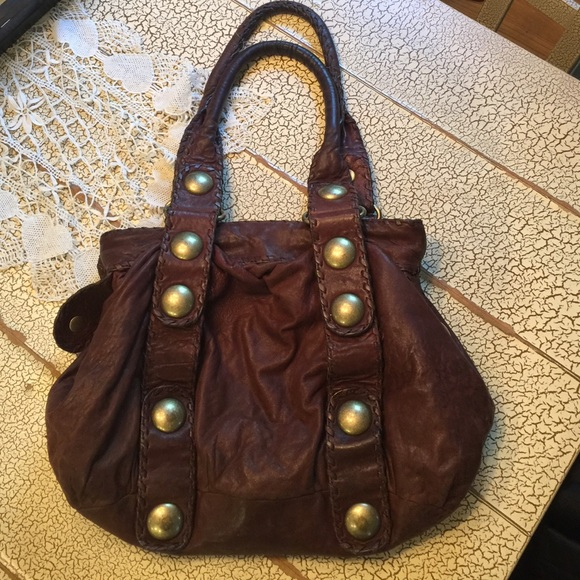 64a64fdc986c Cynthia Rowley Handbags - Vintage Cynthia Rowley Brown Leather Handbag Purse