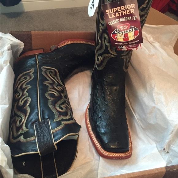 6c64ae6a1af 🆕🆕🆕🆕🆕 nocona OSTRICH cowboy boots NWT