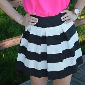 Dresses & Skirts - Striped Skater Skirt