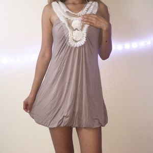 Ami Dresses & Skirts - Nude dress