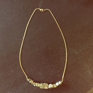 Anthropologie Jewelry - Anthropologie Wire-wrapped pyrite necklace.