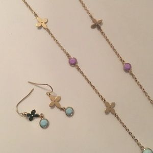 Charming Charlie Jewelry - 🆕 Charming Charlie Earrings + Necklace Bundle