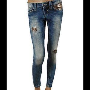 Roberto Cavalli Denim - NWT JUST CAVALLI Skinny Jeans Blue SZ 32 NWT