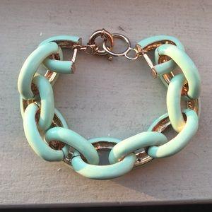 Gorgeous mint green bracelet