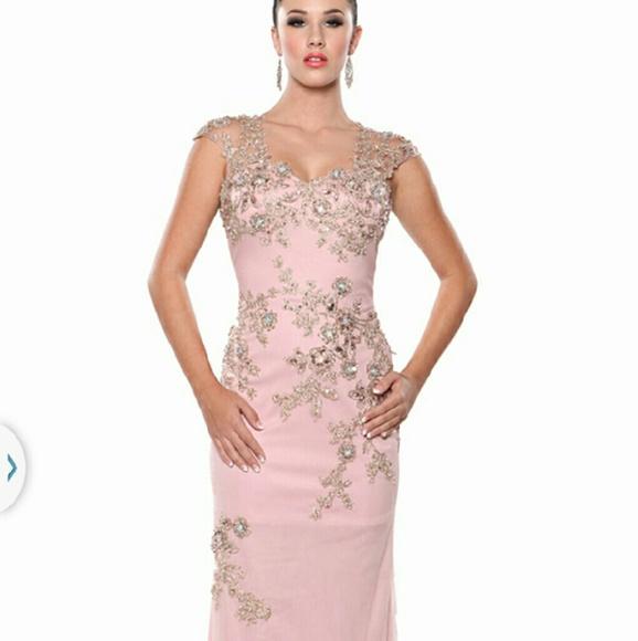 Atria Couture Dresses Blush Formal Dress Poshmark