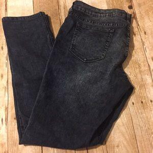 City Streets Denim - Acid look skinny jeans