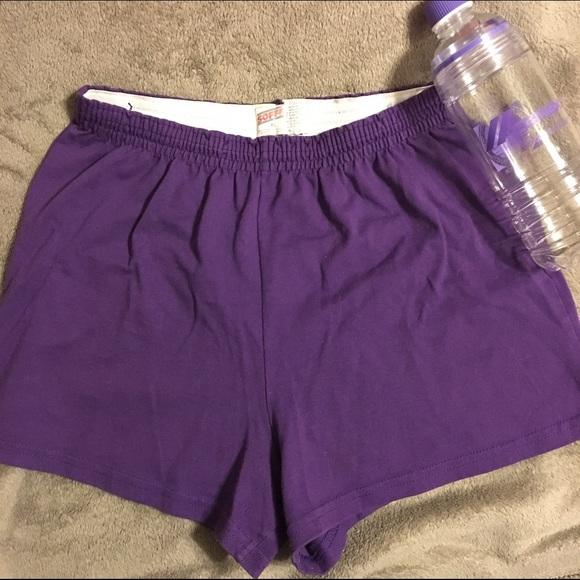 soffe shorts royal purple cheer poshmark