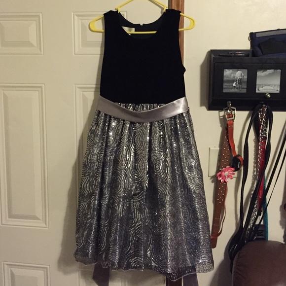 Girls plus size dress