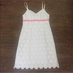 White Eyelet Lily Pulitzer Dress