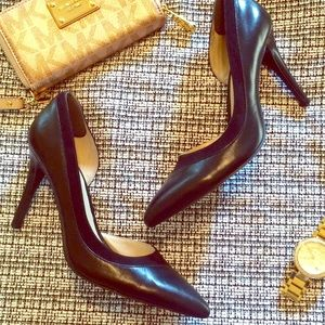 sale Nine West classic black pointed toe pump