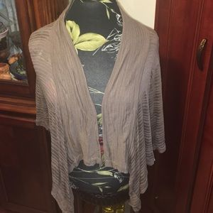 Sweaters - NWT tan cover up in 2X