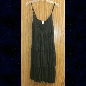 Old Navy Tiered Little Black Sundress