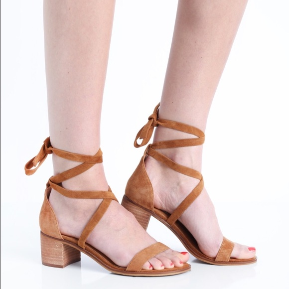 58c10a53230 Steve Madden Rizza Tie Up Heels