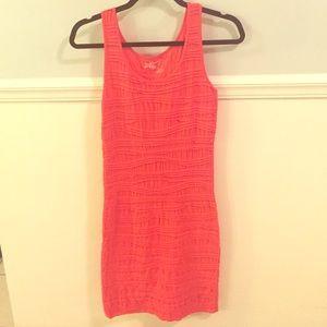 Coral Dress - S/M