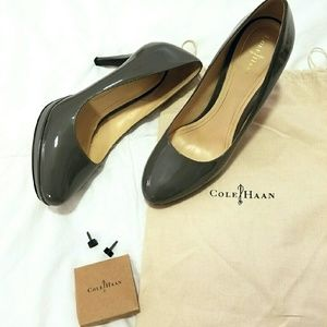Cole Haan Shoes - Gray Cole Haan Chelsea Pumps w Nike Air