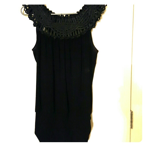 Black Tank Top Dressy