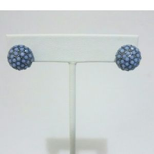 Jewelry - Baby Blue Ball Studded Earrings
