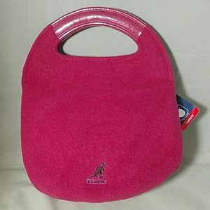 Kangol Handbags - KANGOL *nwt* Maroon Wool Anniversary Hand Bag