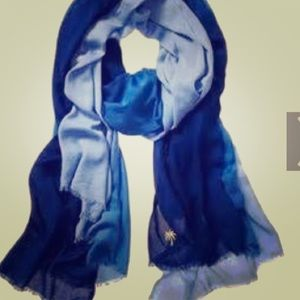 Juicy Couture blue ombre scarf