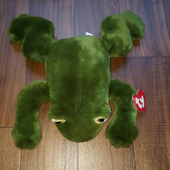 FINAL PRICE DROP Freddie the frog ty beanie baby 1d92dd71c7b