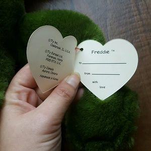 6b792c38afb ty Other - FINAL PRICE DROP Freddie the frog ty beanie baby