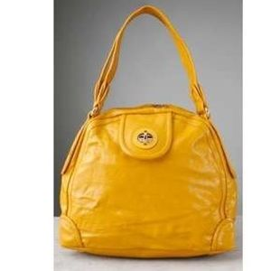 ✨Marc by Marc Jacobs Yellow Patent Leather Bag✨