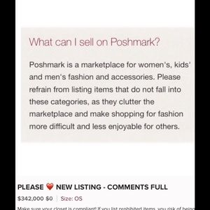 Other - IS YOUR CLOSET POSHMARK COMPLIANT?