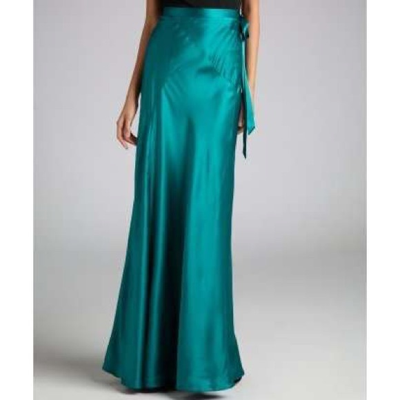 57 h m dresses skirts s silk maxi skirt