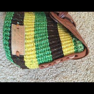 Kenyan-woven crossbody bag
