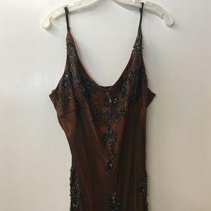 Vintage bejeweled dress