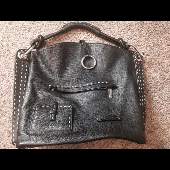 90 off bcbgmaxazria handbags bcbg max azria black tote