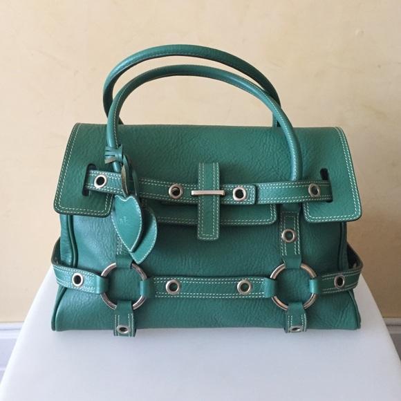 ebe64532c0 Luella Bags | Baby Gisele Leather Handbag | Poshmark