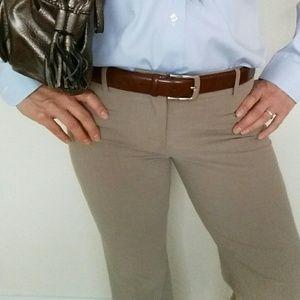 Casual Corner Stretch Dress Pants Size4 w/earrings