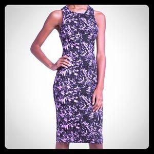 WAYF body-con midi dress